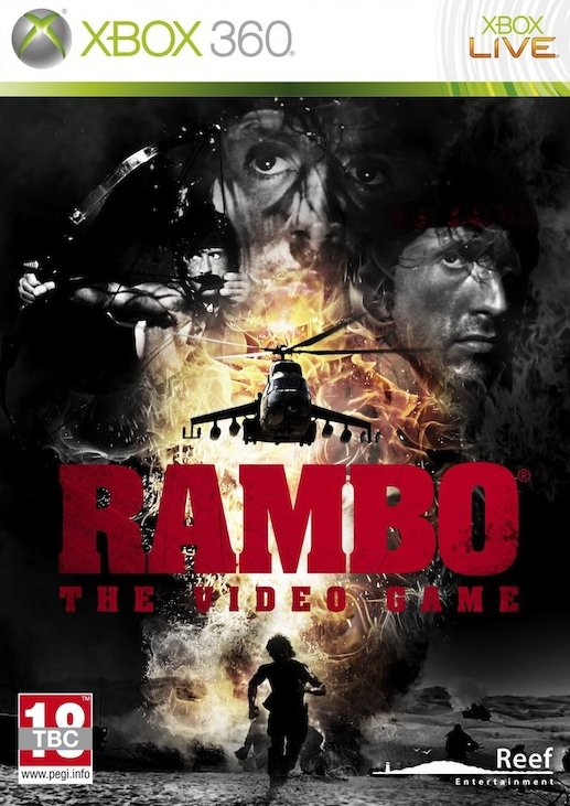 Image of   Rambo The Video Game - Xbox 360