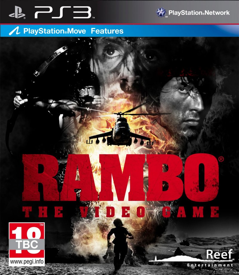 Image of   Rambo The Video Game - PS3