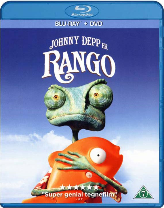 Image of   Rango (blu-ray+dvd) - Blu-Ray