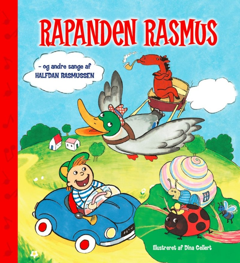 Image of   Rapanden Rasmus Og Andre Sange Af Halfdan Rasmussen M/ Cd - Halfdan Rasmussen - Bog