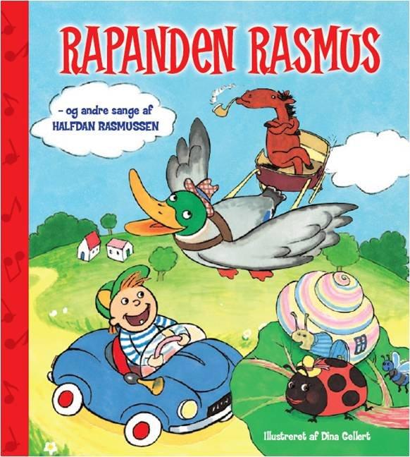 Image of   Rapanden Rasmus Og Andre Sange Af Halfdan Rasmussen - Halfdan Rasmussen - Bog