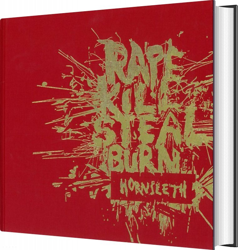 Image of   Rape Kill Steal Burn - Kristian Von Hornsleth M.fl - Bog