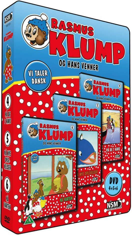 Billede af Rasmus Klump Og Hans Venner - Boks 2 - DVD - Film