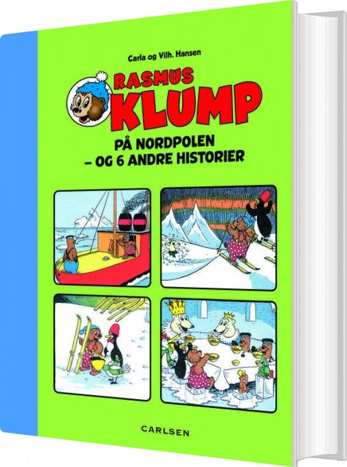 Rasmus Klump På Nordpolen - Carla Og Vilhelm Hansen - Bog