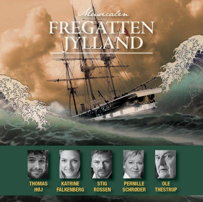 Image of   Fregatten Jylland - Fregatten Jylland - Musical - CD