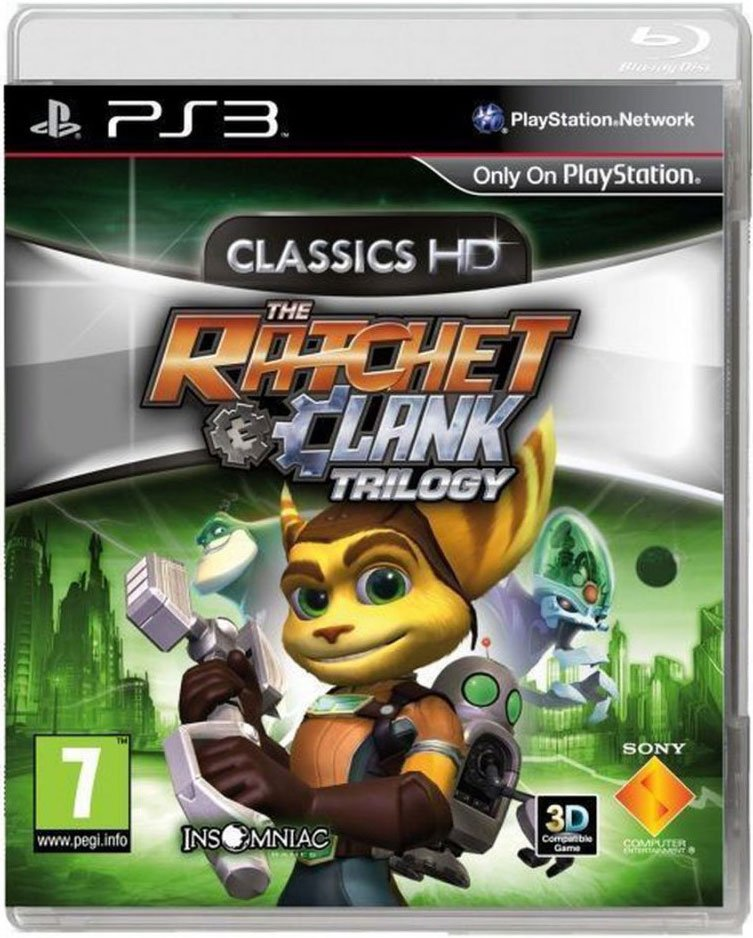 Image of   Ratchet & Clank Trilogy: Hd Collection - PS3