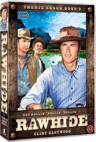 Rawhide - Sæson 3 - Boks 3 - DVD - Tv-serie