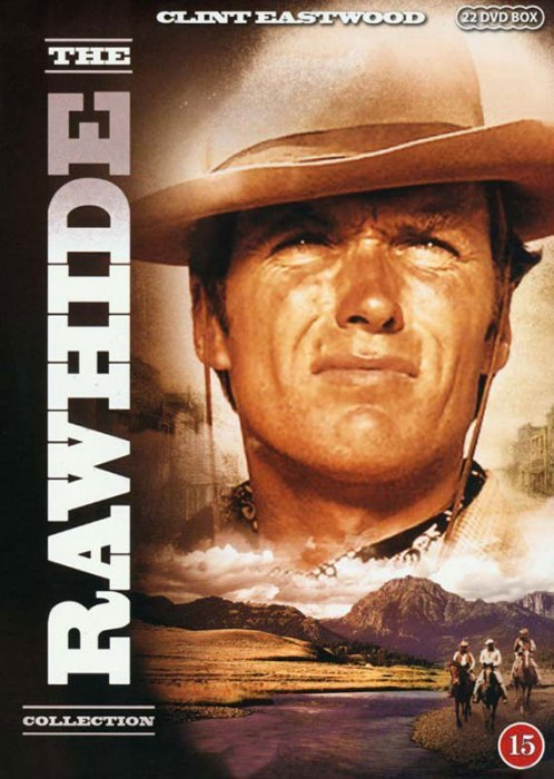 Rawhide - The Collection - Sæson 1-3 - DVD - Tv-serie