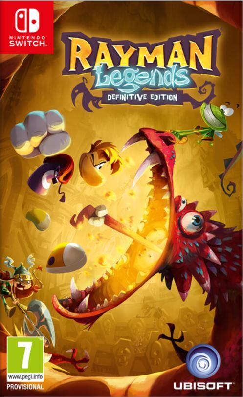 Rayman Legends - Definitive Edition - Nintendo Switch