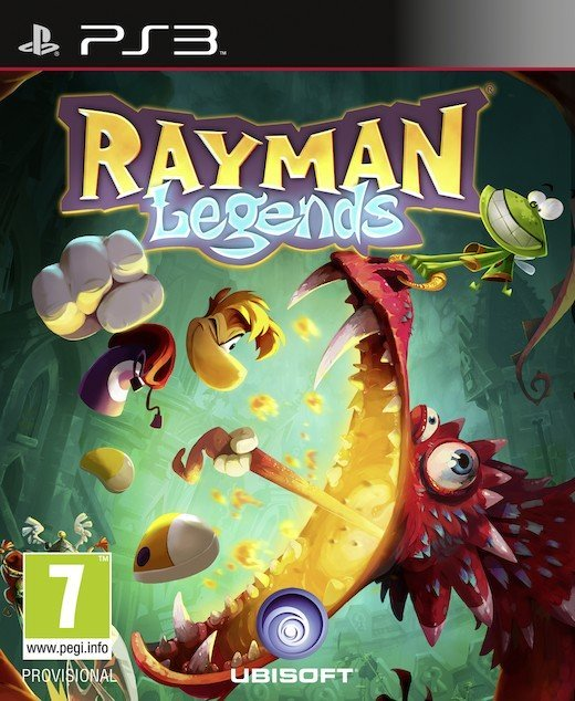 Image of   Rayman Legends (uk) - PS3