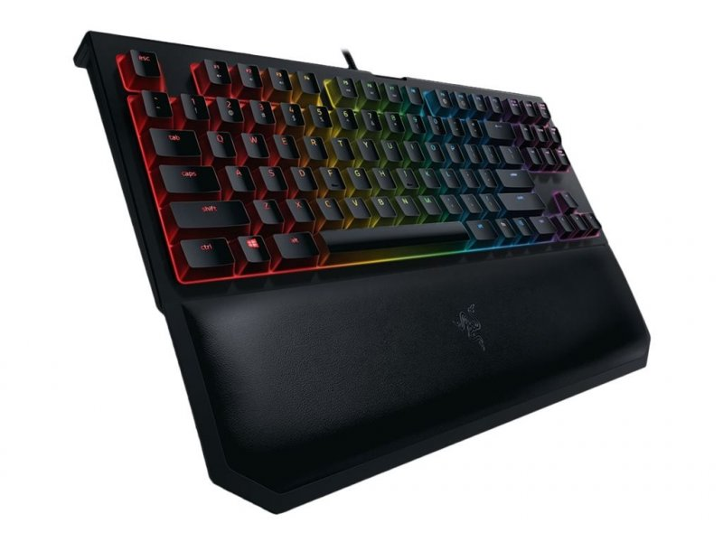 Image of   Razer Blackwidow Chroma V2 - Gaming Tastatur - Tournament Edition - Yellow Switches