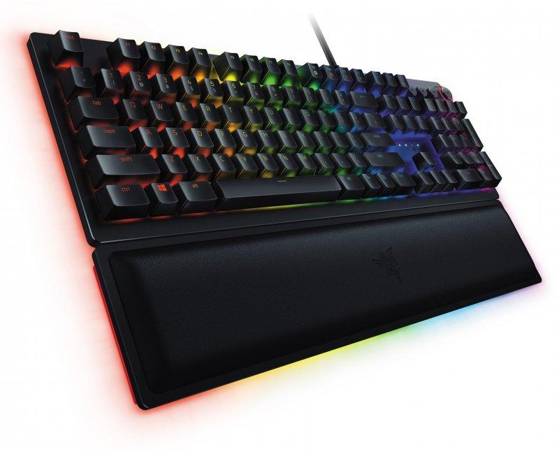 Image of   Razer Huntsman Elite - Mekanisk Gaming Tastatur Med Lys