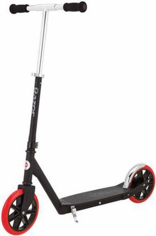 Moderne Razor Løbehjul Med Store Hjul - Carbon Lux Sort → Køb billigt her LO-77