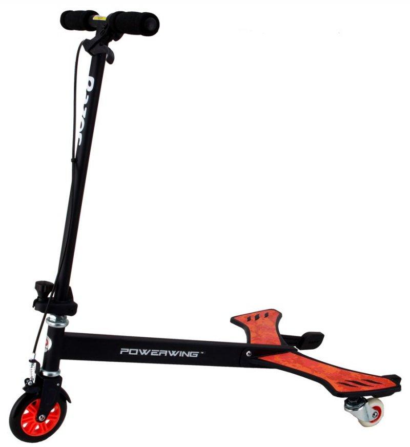Razor Powerwing Trehjulet Løbehjul - Sort