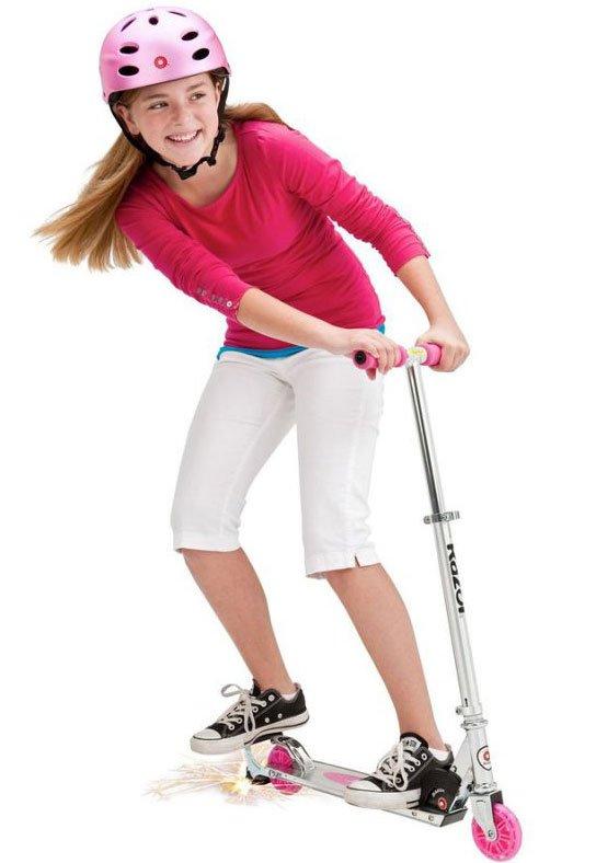løbehjul der kan lave gnister, Løbehjul Scooter, Børneløbehjul