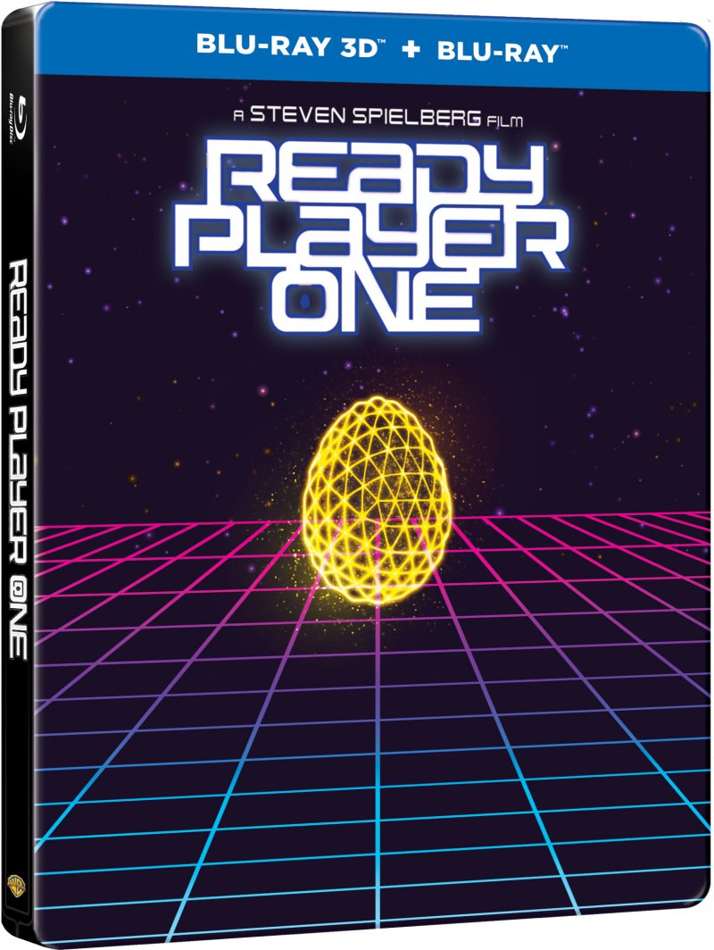 Image of   Ready Player One - Steelbook - 2018 - 3D Blu-Ray