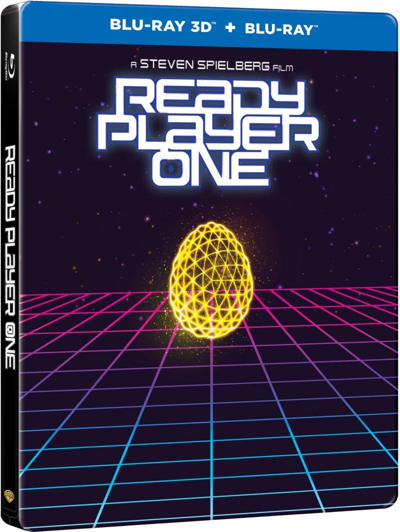 Billede af Ready Player One - Steelbook - 2018 - 3D Blu-Ray