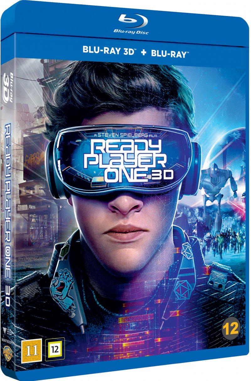 Billede af Ready Player One - 2018 - 3D Blu-Ray