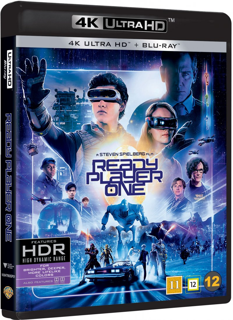 Image of   Ready Player One - 2018 - 4K Blu-Ray