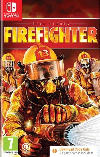 Image of   Real Heroes: Firefighter (download Code Only) - Nintendo Switch