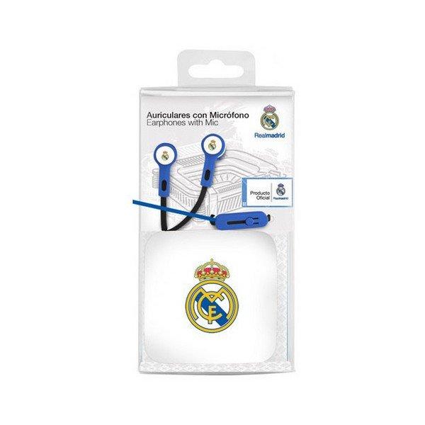 Billede af Real Madrid C.f. - In-ear Høretelefoner Med Ledning - Blå