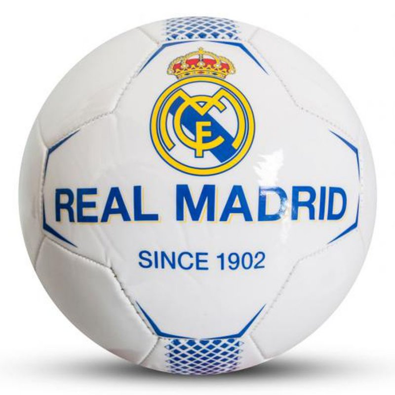 Image of   Fodbold Med Real Madrid Logo - Str 5