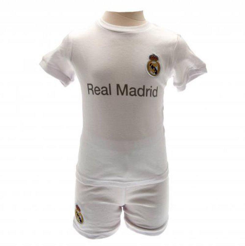 Image of   Real Madrid Trøje / T-shirt Og Shorts - 12-18 Mdr