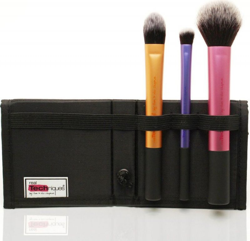Image of   Real Techniques Travel Essentials Makeup Brush Set / Makeup Børster Sæt