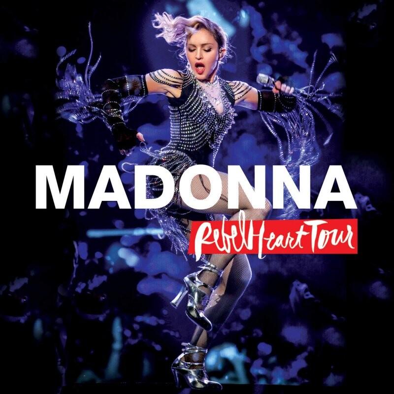 Image of   Madonna - Rebel Heart Tour (cd+blu-ray) - CD