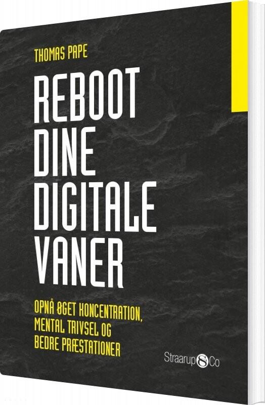 Reboot Dine Digitale Vaner - Thomas Pape - Bog