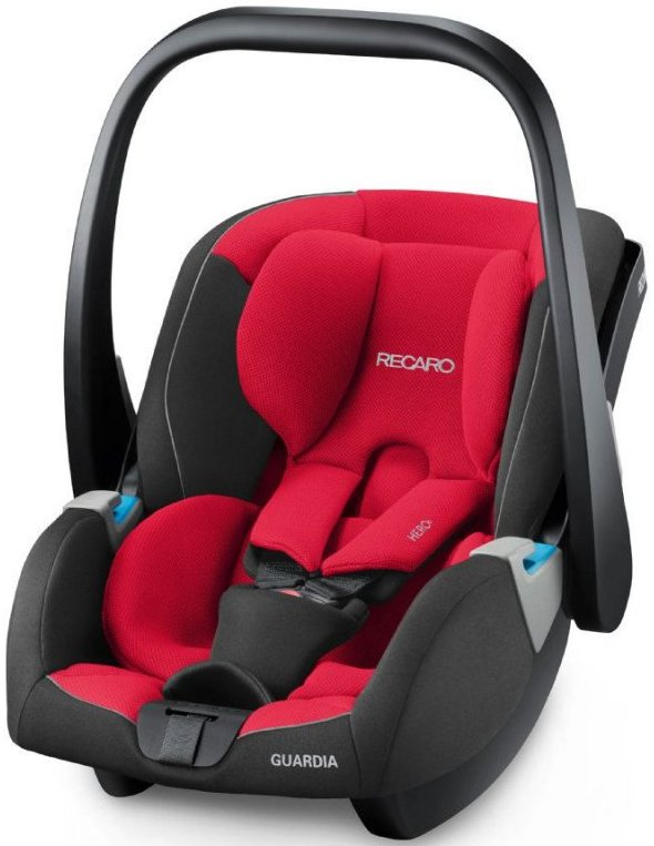 Image of   Recaro Guardia Autostol - 0-13 Kg - Racing Red