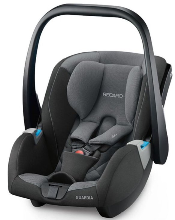 Image of   Recaro Guardia Autostol - 0-13 Kg - Carbon Black