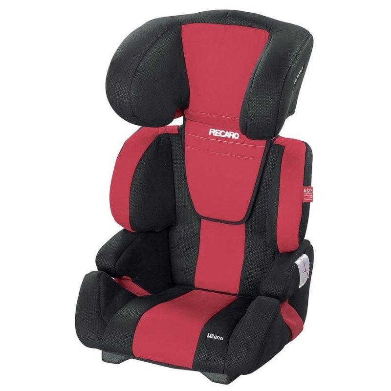 Recaro Milano - Autostol / Bilstol - 15-36 Kg - Rød → Køb billigt her