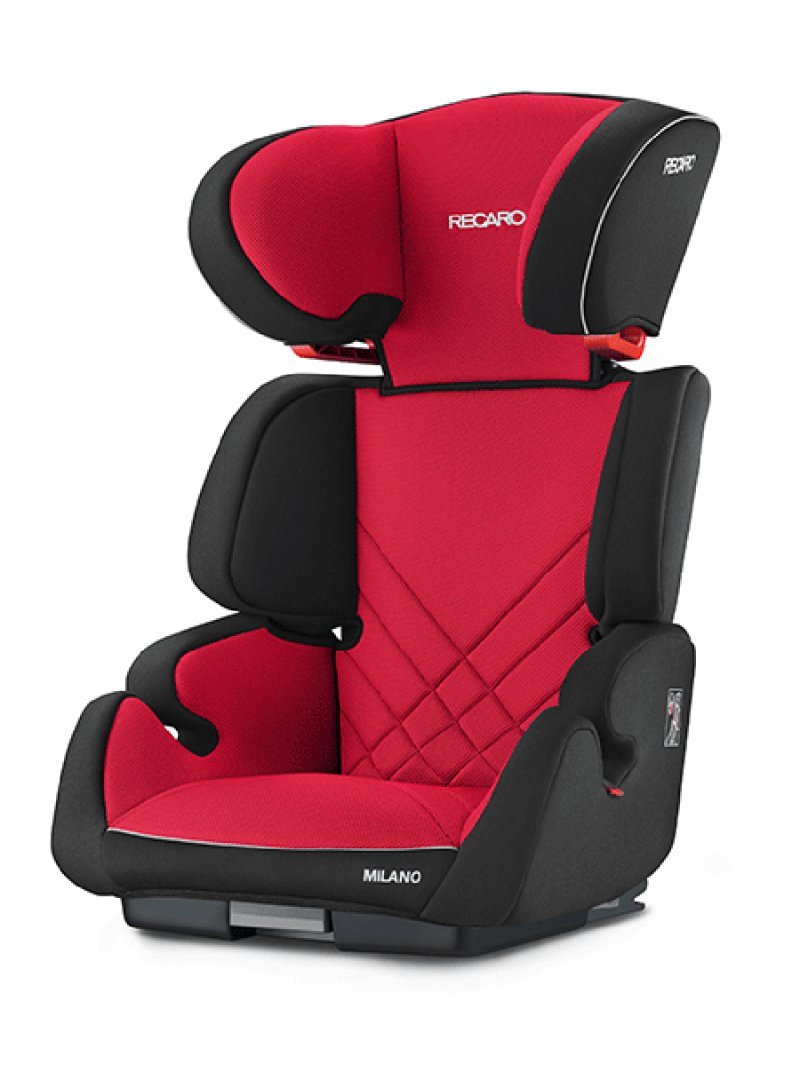 Image of   Recaro - Milano Seatfix (15-36 Kg) - Racing Red