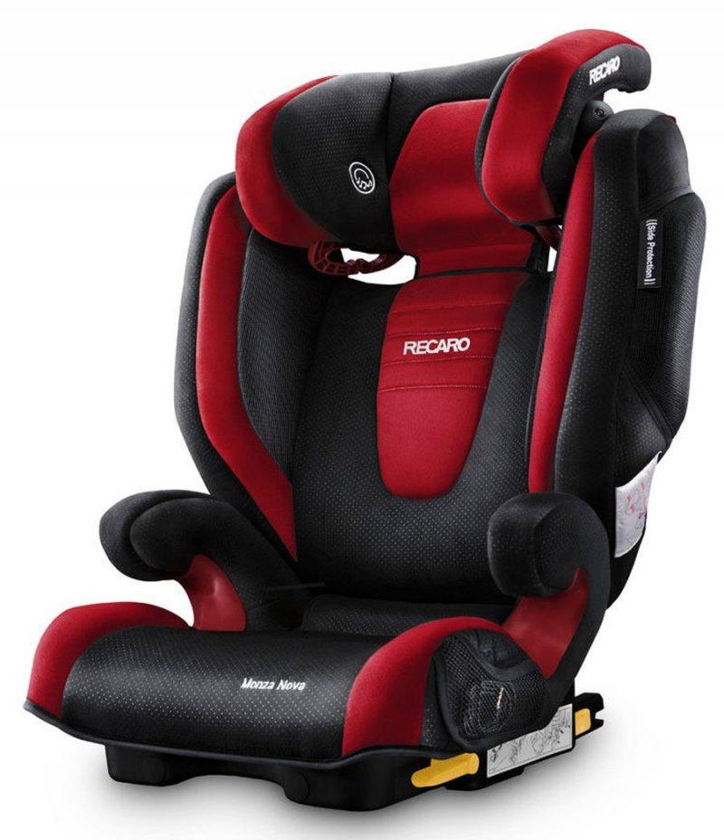 Image of   Recaro Monza Nova 2 Seatfix Autostol - Rød / Sort