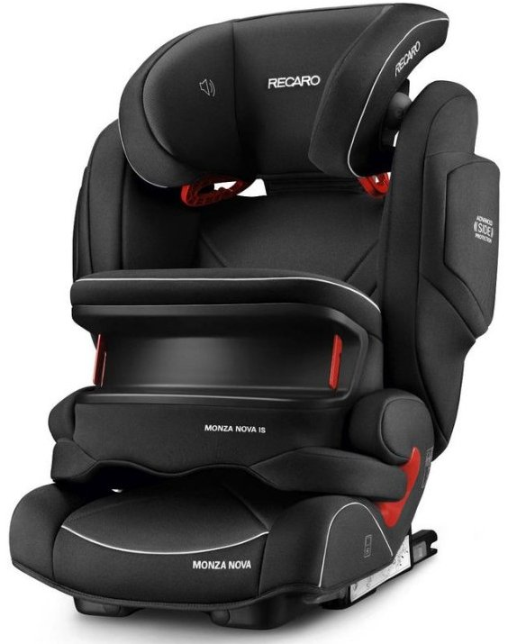 Image of   Autostol - Recaro Monza Nova Is - Sort - 9-36 Kg