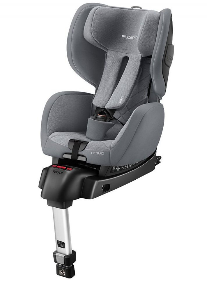 Image of   Recaro Autostol Optiafix - 9-18 Kg - Aluminium Grey