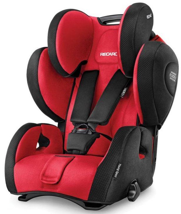 Image of   Recaro Young Sport Hero Autostol - Rød / Sort