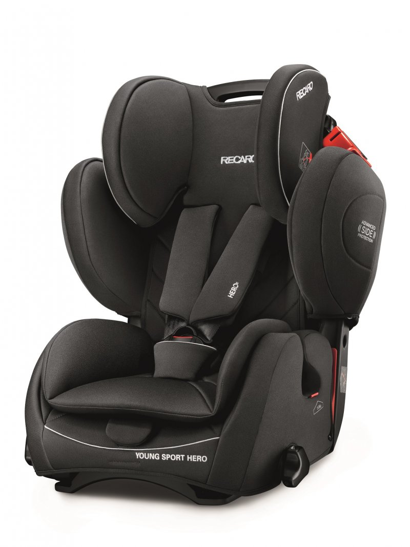 Image of   Recaro Young Sport Hero Autostol - Sort