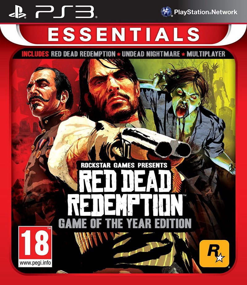 Image of   Red Dead Redemption Game Of The Year (essentials) - PS3