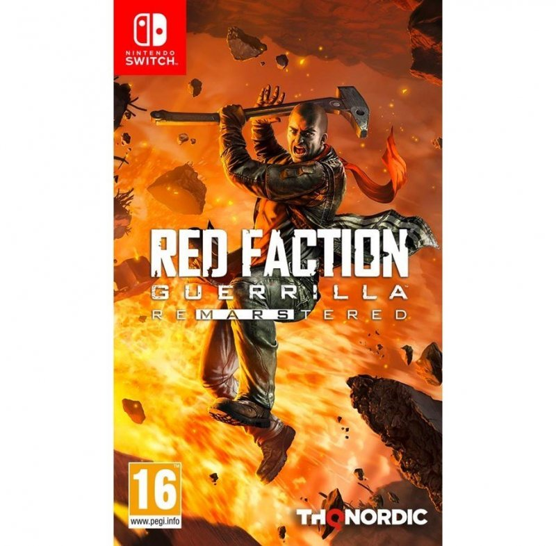 Image of   Red Faction Guerrilla Re-mars-tered - Nintendo Switch