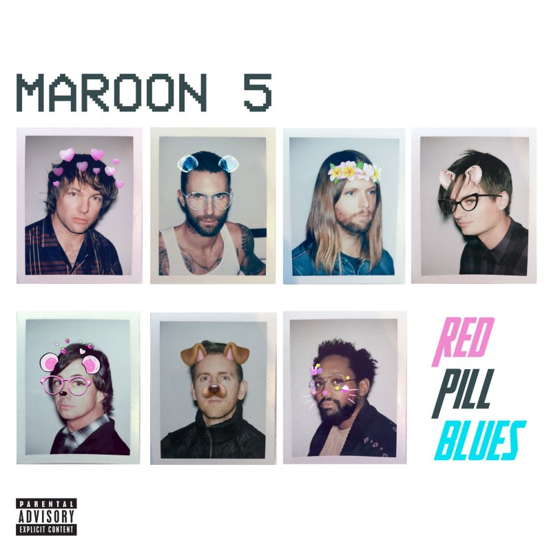 Image of   Maroon 5 - Red Pill Blues - CD