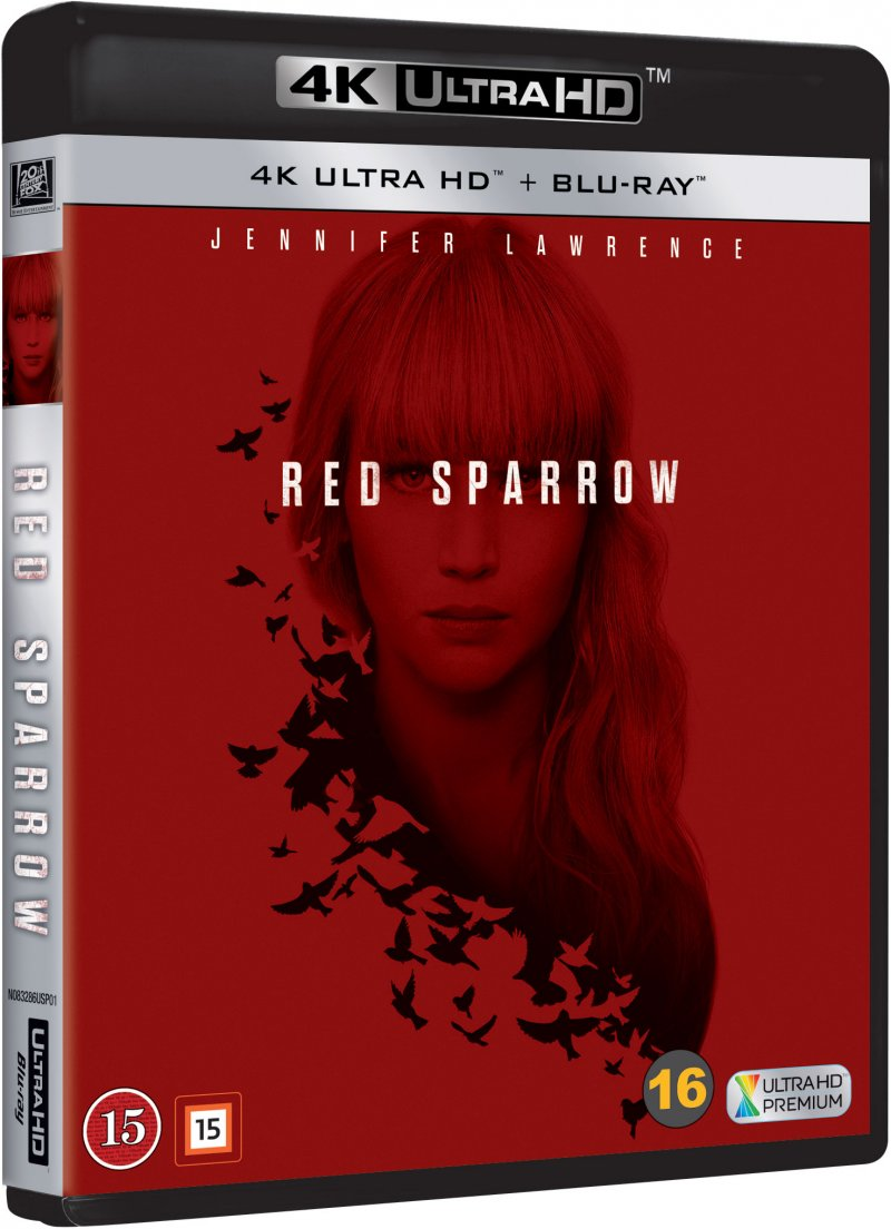 Image of   Red Sparrow - 4K Blu-Ray
