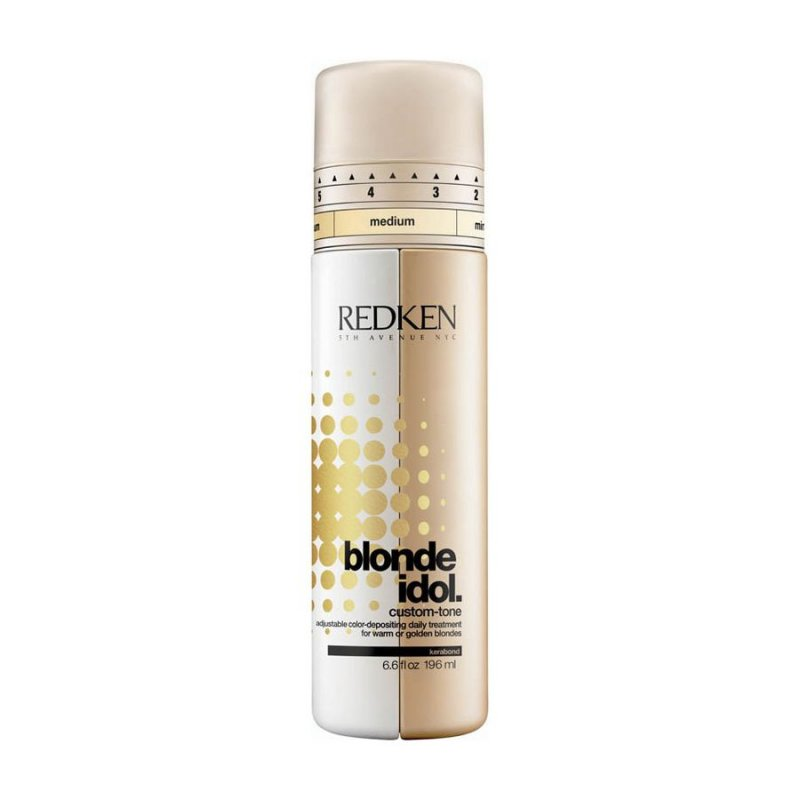 Redken Blonde Idol Custom Tone Gold Conditioner - 196 Ml.