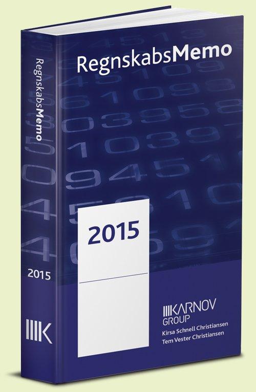 Regnskabsmemo 2015 - Kirsa Schnell Hansen - Bog