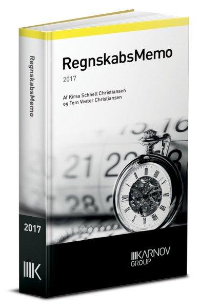 Regnskabsmemo 2017 - Kirsa Schnell Hansen - Bog