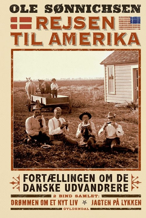 Image of   Rejsen Til Amerika - Ole Sønnichsen - Bog