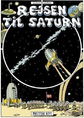 Image of   Rejsen Til Saturn - Claus Deleuran - Tegneserie