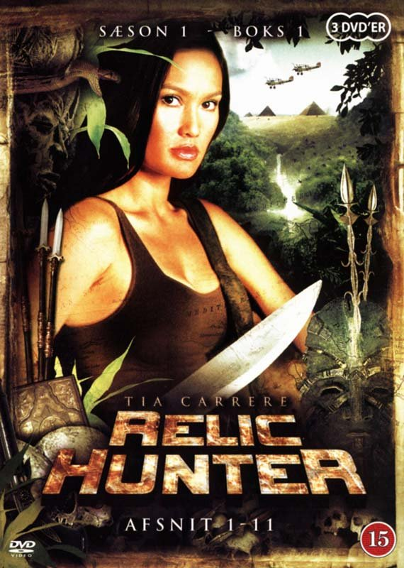 Image of   Relic Hunter - Sæson 1 - Boks 1 - DVD - Tv-serie
