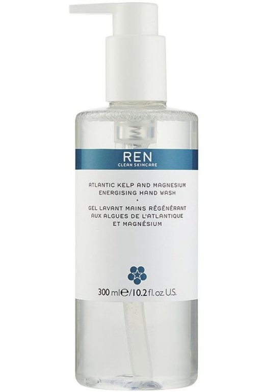Ren - Atlantic Kelp And Magnesium Energising Hand Wash 300 Ml